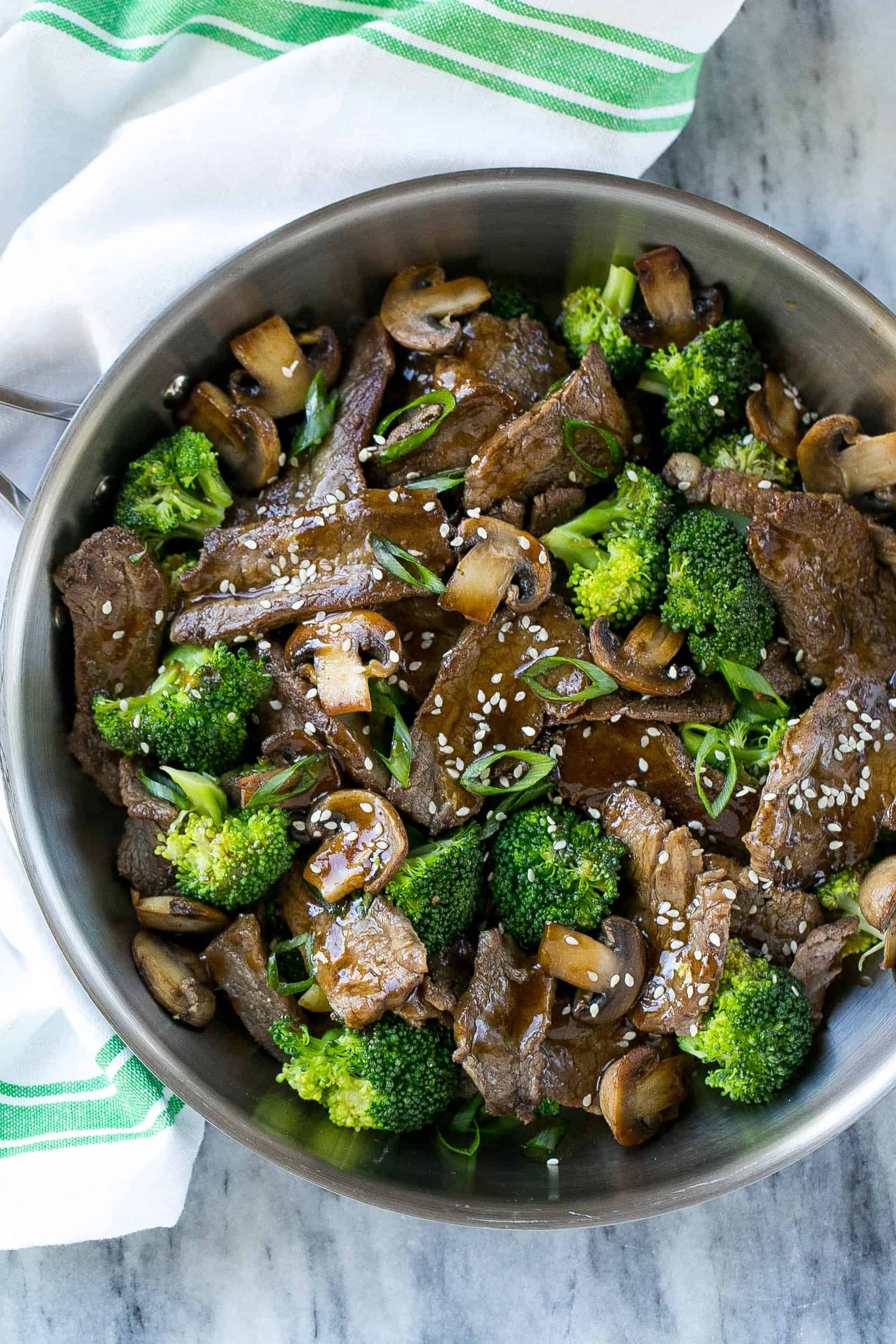 healthy Chinese beef recipe