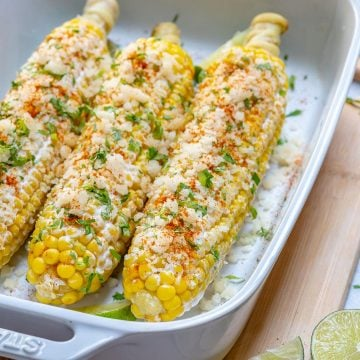 Healthy Street Corn