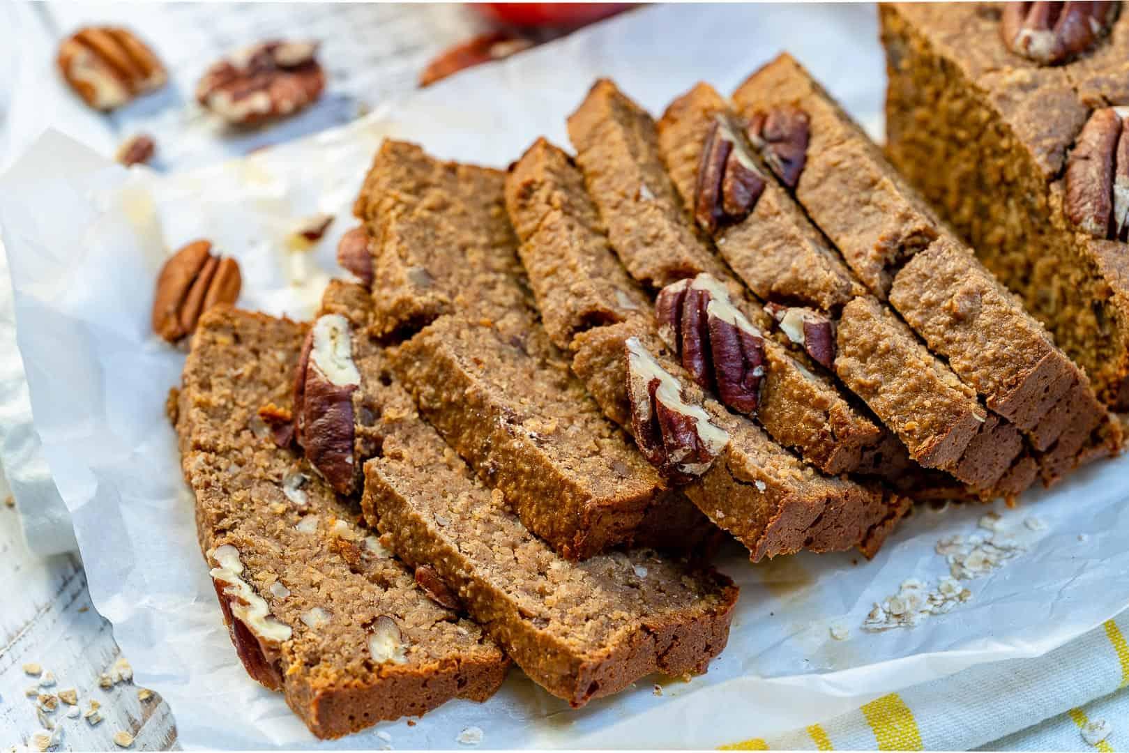healthy cinnamon apple loaf recipe