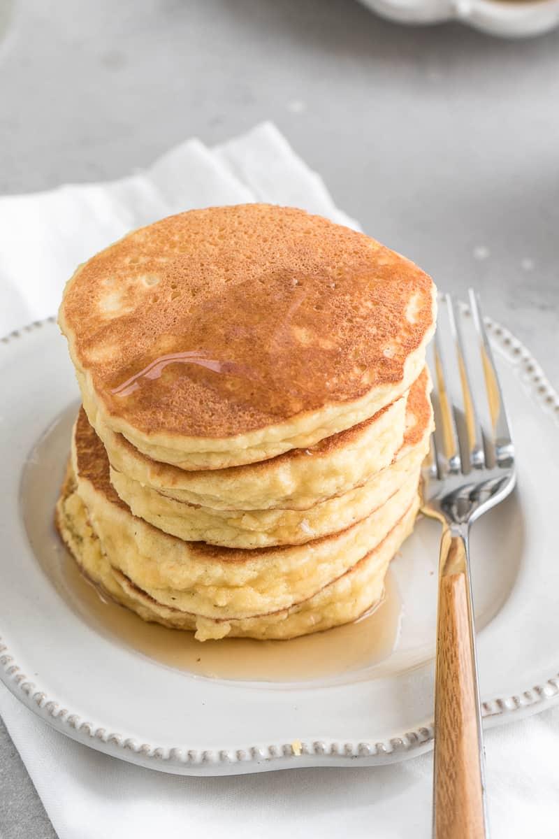 easy Fluffy Keto Pancakes