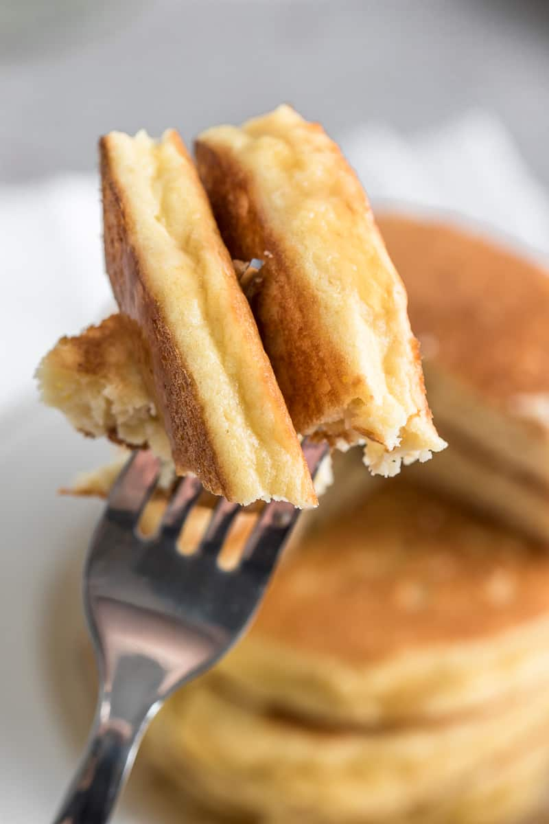 healthy and easy low carb Pancakes