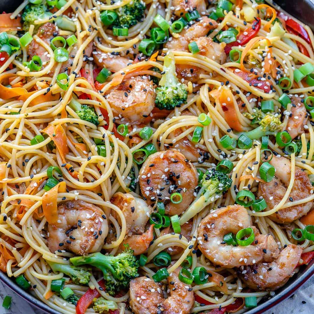 Shrimp Stir fry noodles