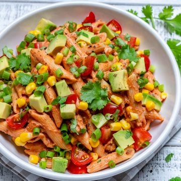Healthy Taco Pasta Salad