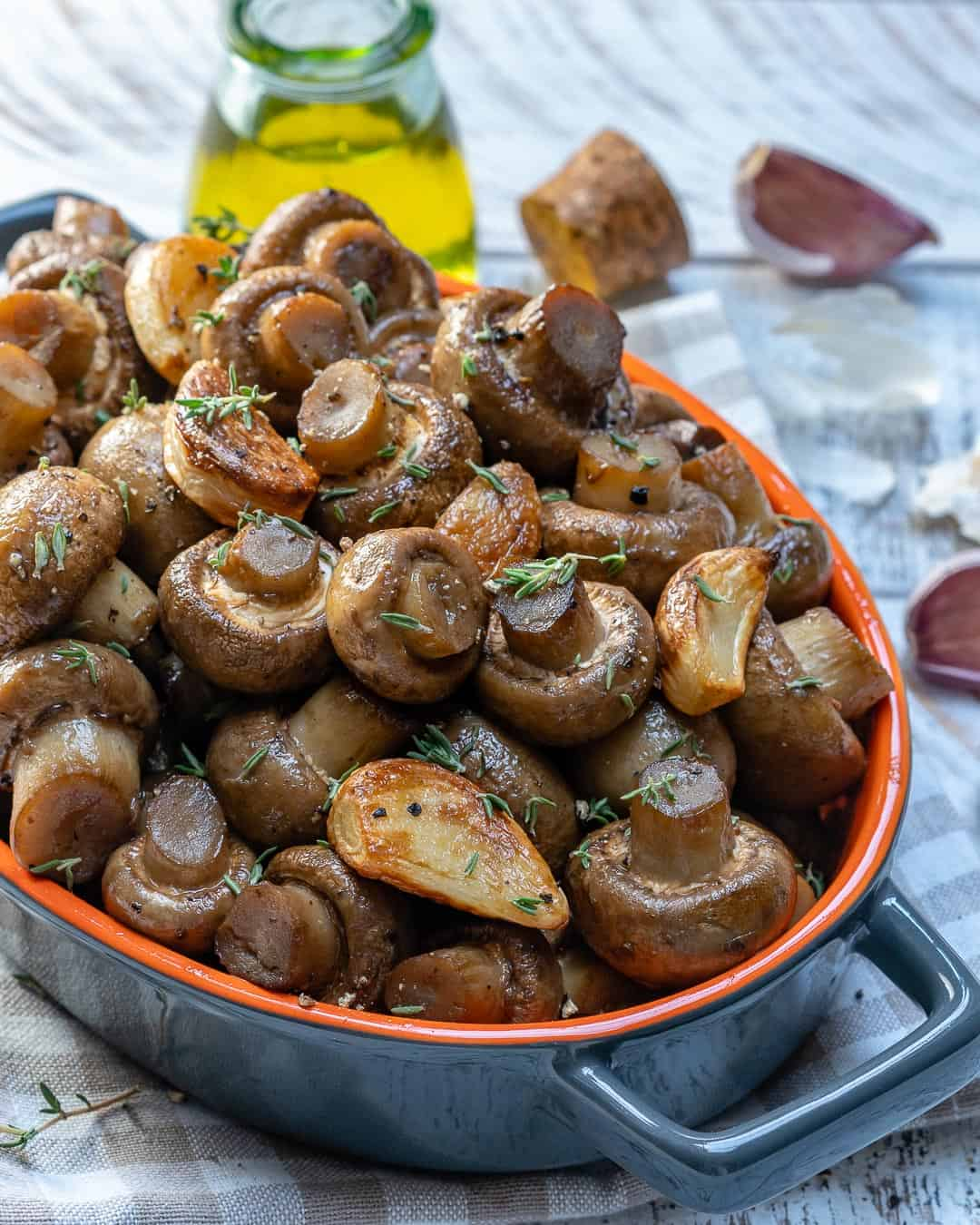 Garlic Roasted Mushrooms