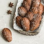 Brown Butter Gingerbread Madeleines