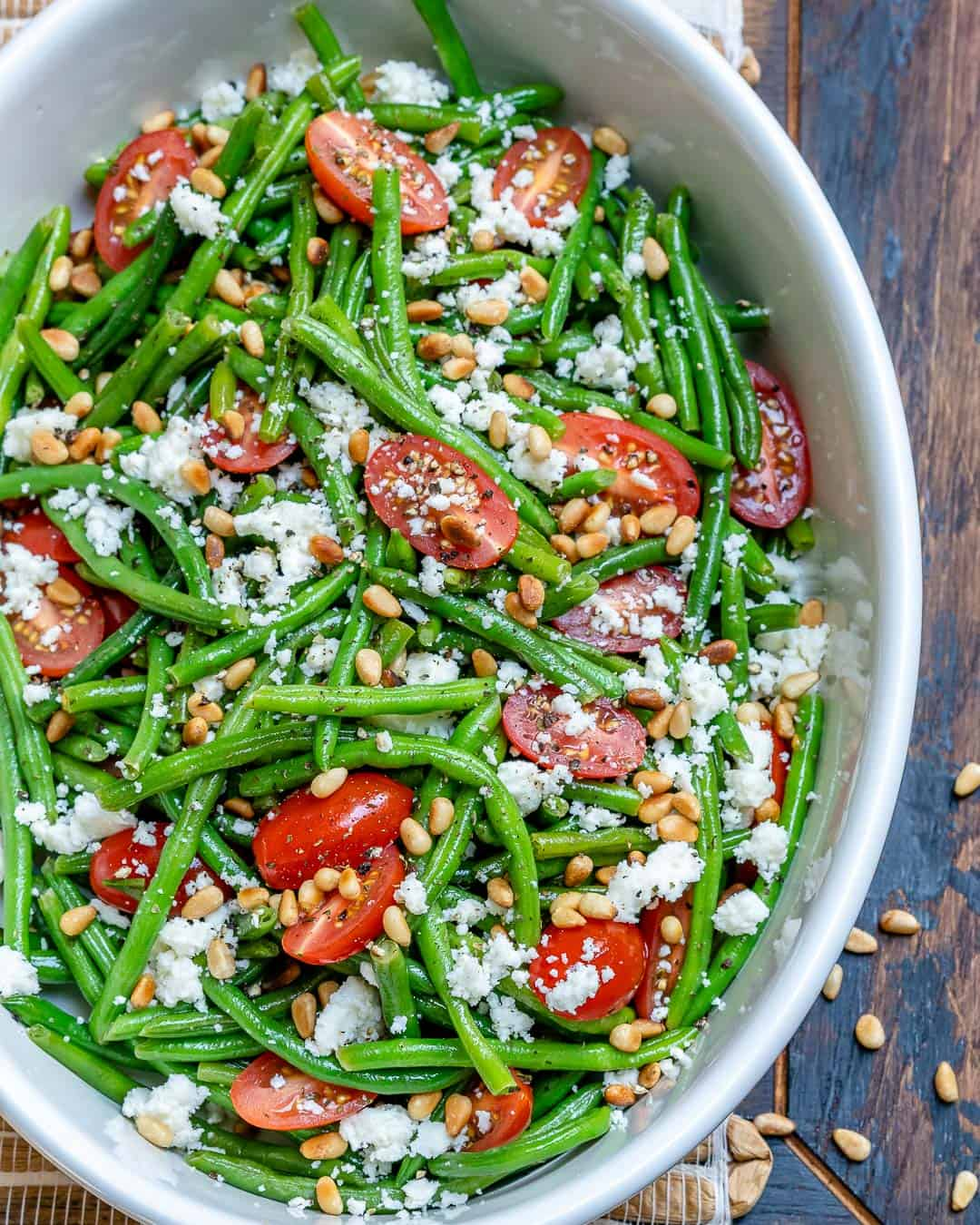 Green Beans and Tomato Salad