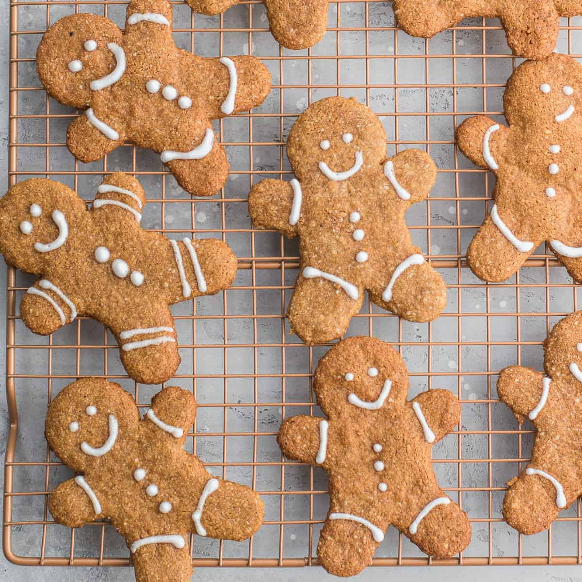 gluten-free Gingerbread Men Cookies