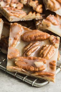 Keto Pecan Brittles Recipe
