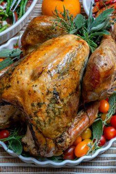 Easy Garlic Herb Turkey Roast Recipe