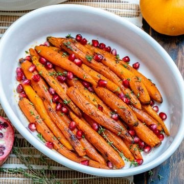 Easy Maple Roasted Carrots