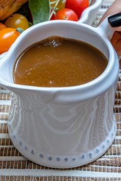 Skinny Turkey Gravy Recipe
