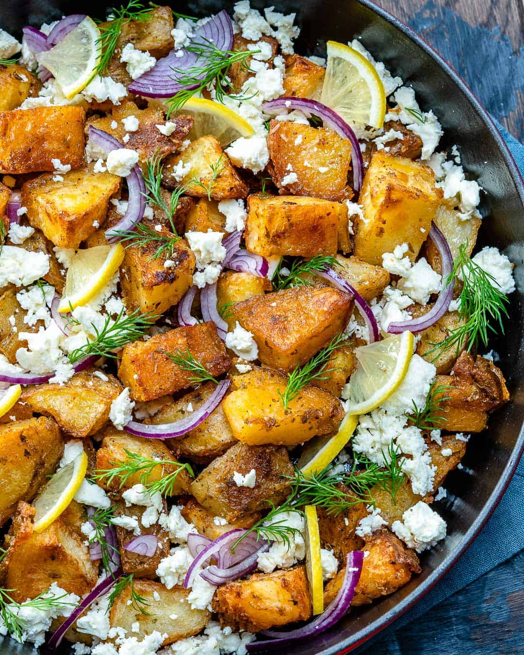 Best Greek potato bake