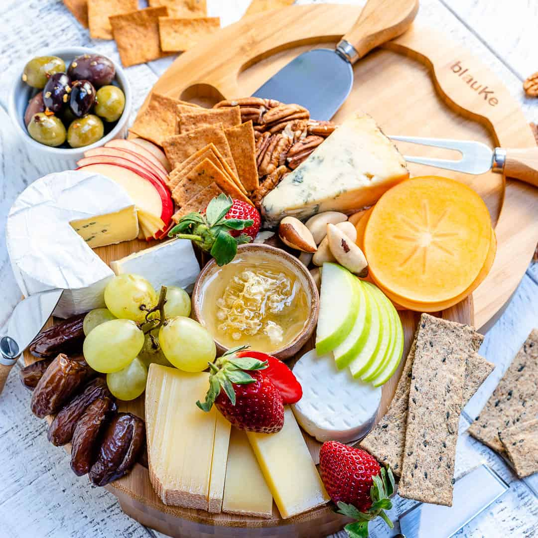 Best Cheese Board with crackers