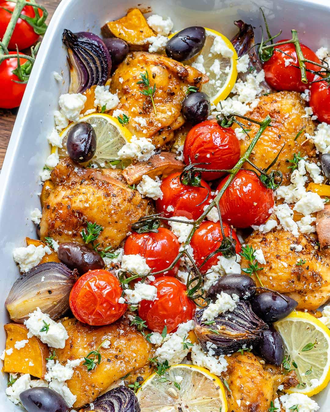 greek chicken dinner recipe
