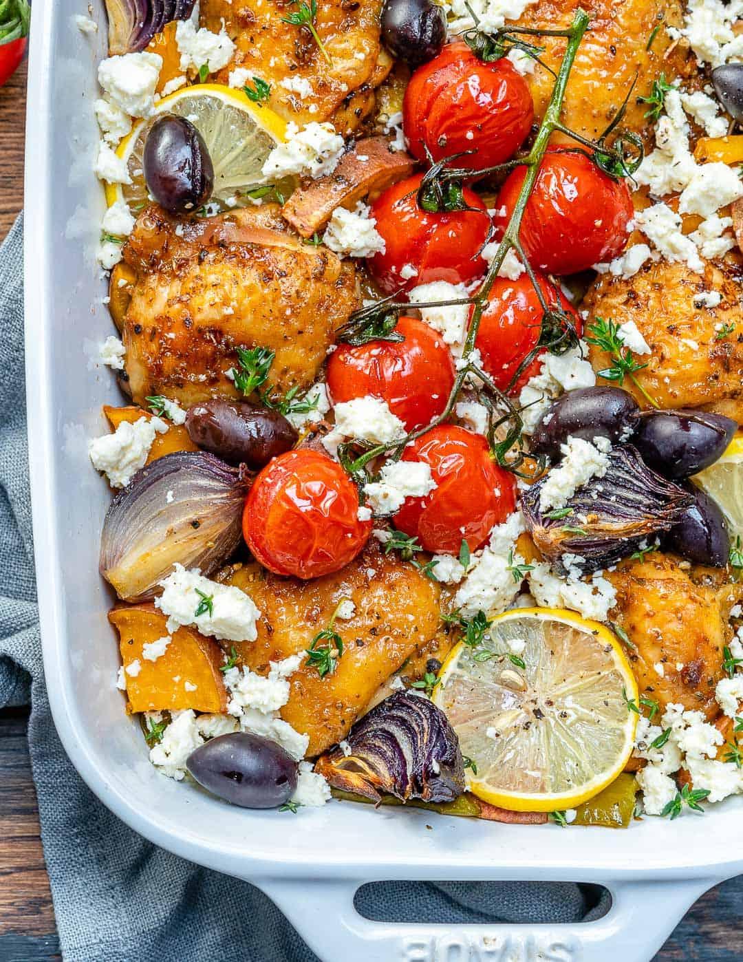 best greek chicken recipe in one pan