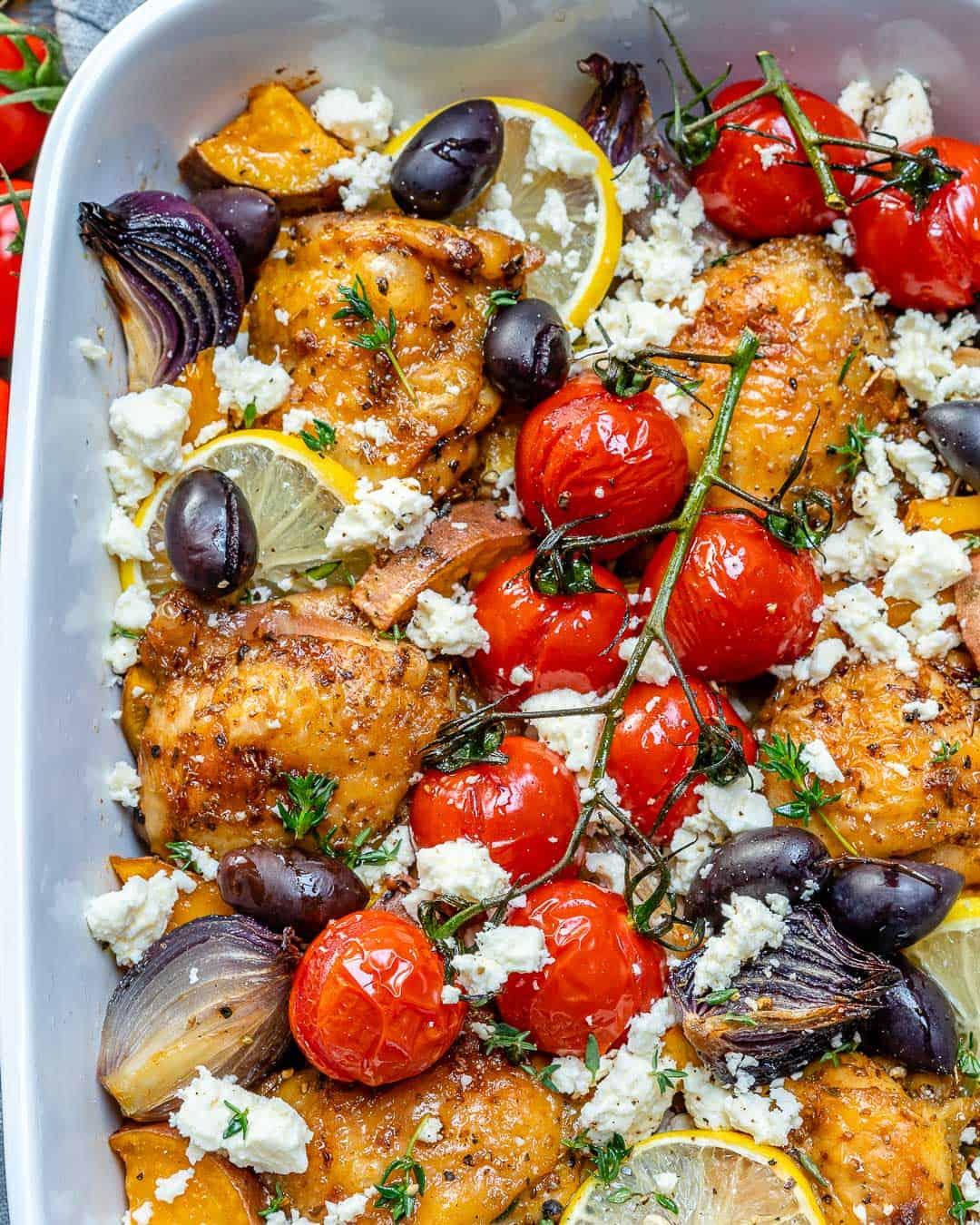 healthy greek recipe