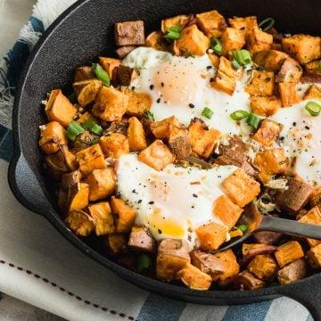 whole 30 sweet potato breakfast skillet