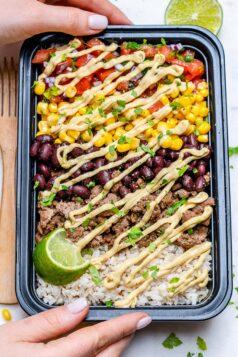Beef Burrito Meal Prep Bowl