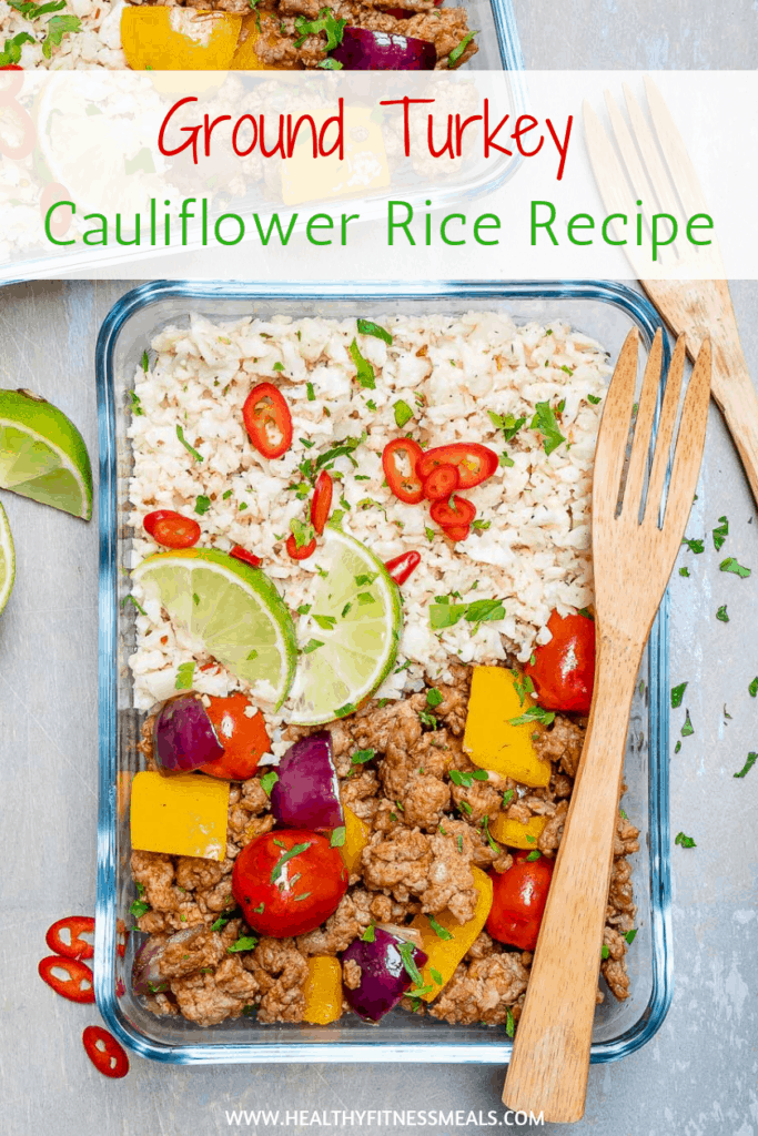 Ground Turkey Cauliflower Rice Recipe