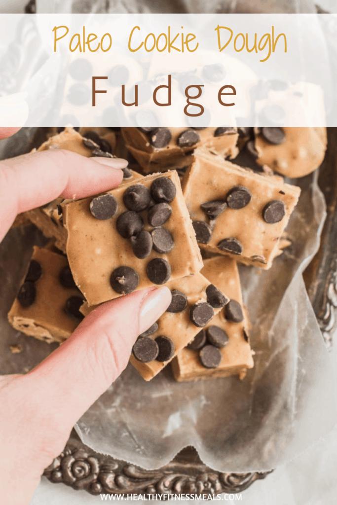 Easy Cookie Dough Fudge Recipe