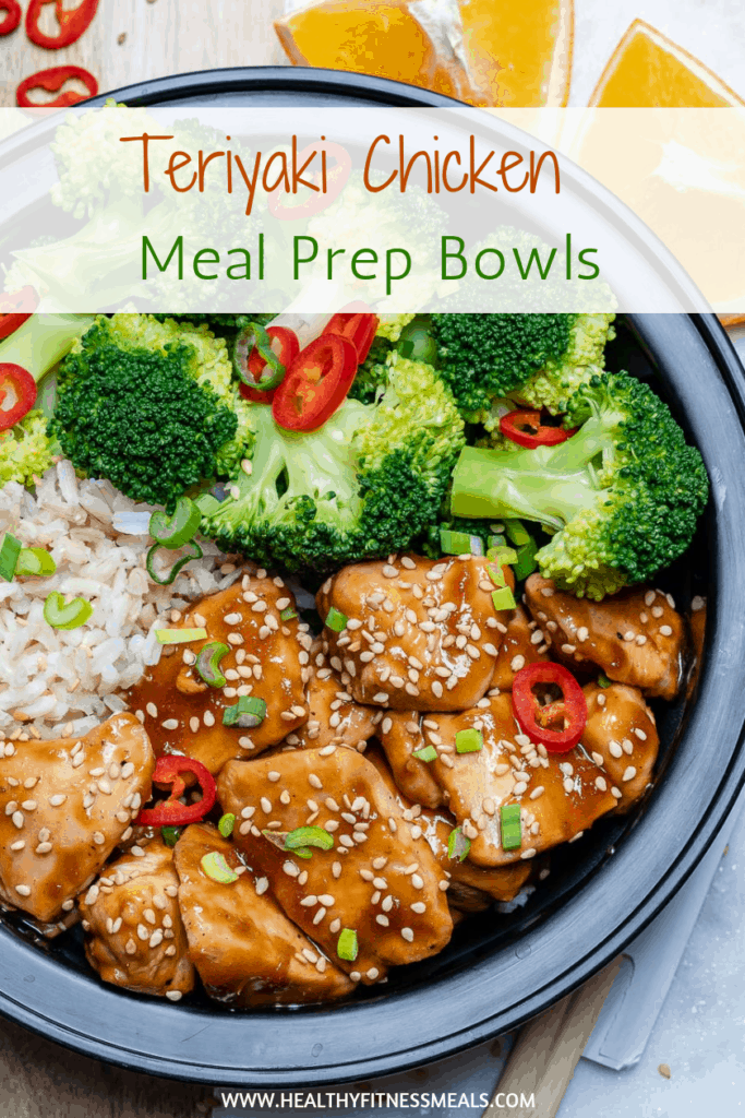 Teriyaki Chicken Meal Prep Bowls Recipe