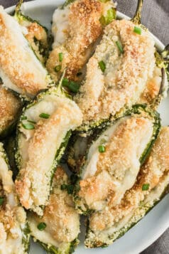 Baked Keto Jalapeno Poppers