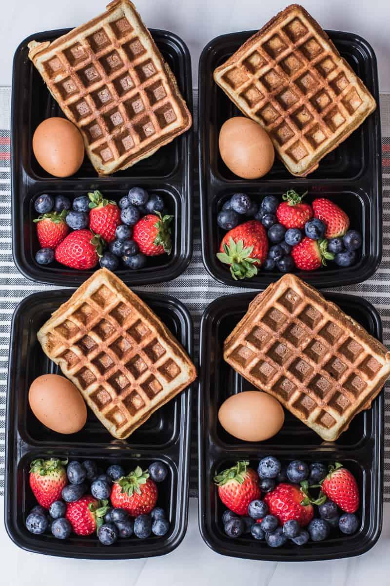 easy healthy waffles recipe