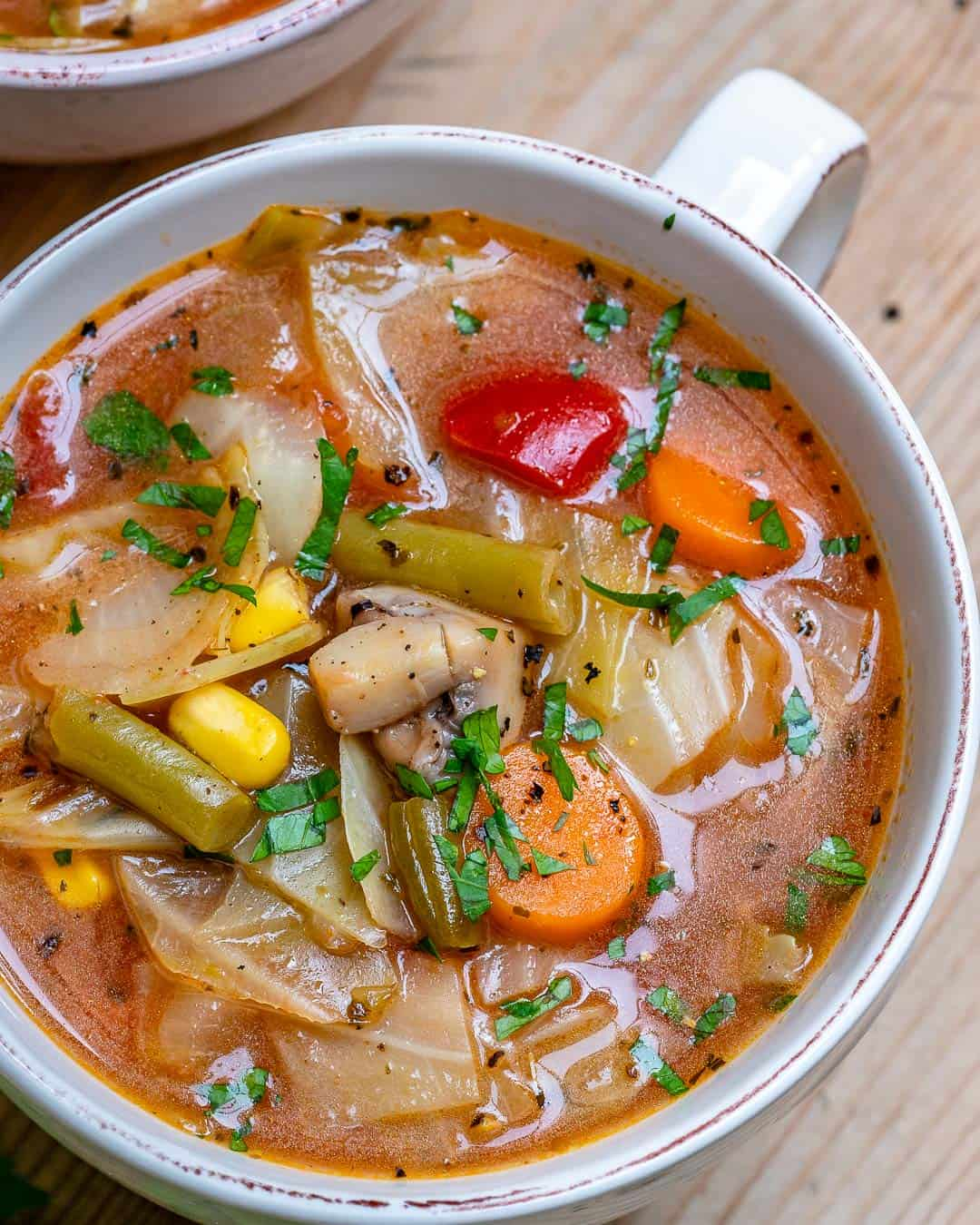 easy detox cabbage soup