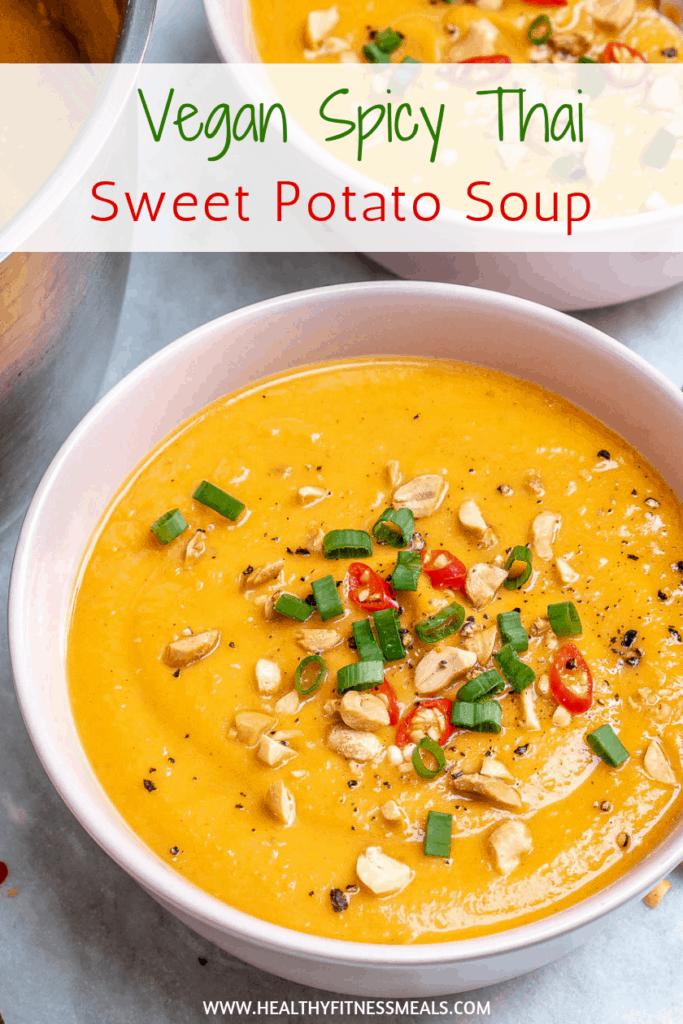 Vegan Thai Sweet Potato Soup