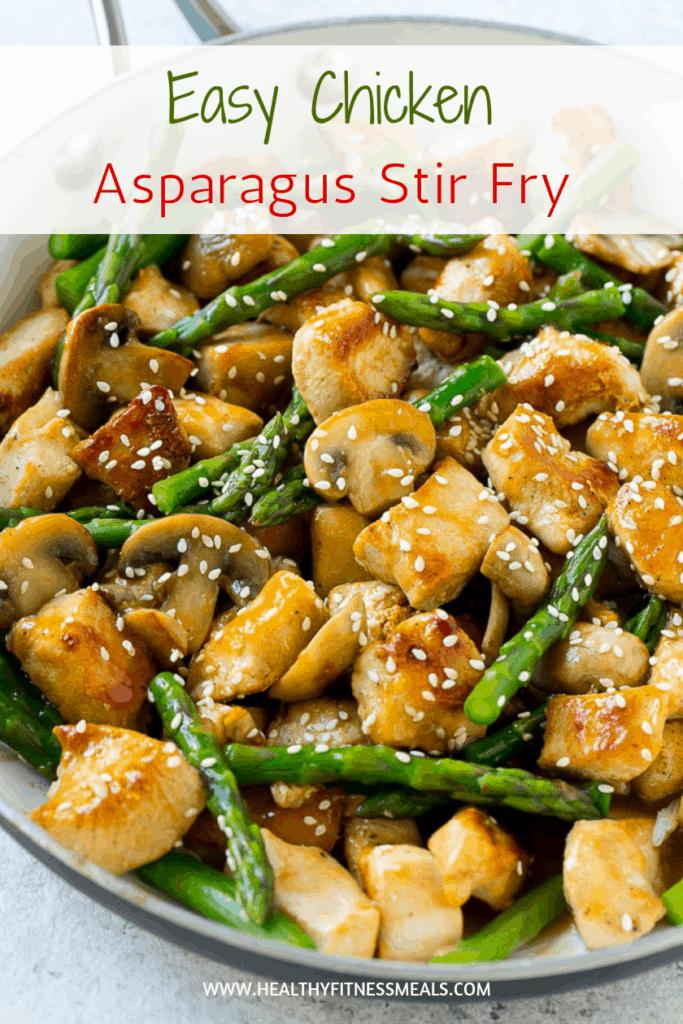 Easy Chicken Asparagus Stir Fry