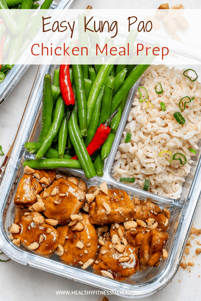 Kung Pao Chicken Meal Prep