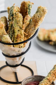 Baked Keto Zucchini Fries