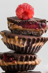 paleo peanut butter jelly cups