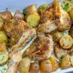 baked chicken recipe with potatoes