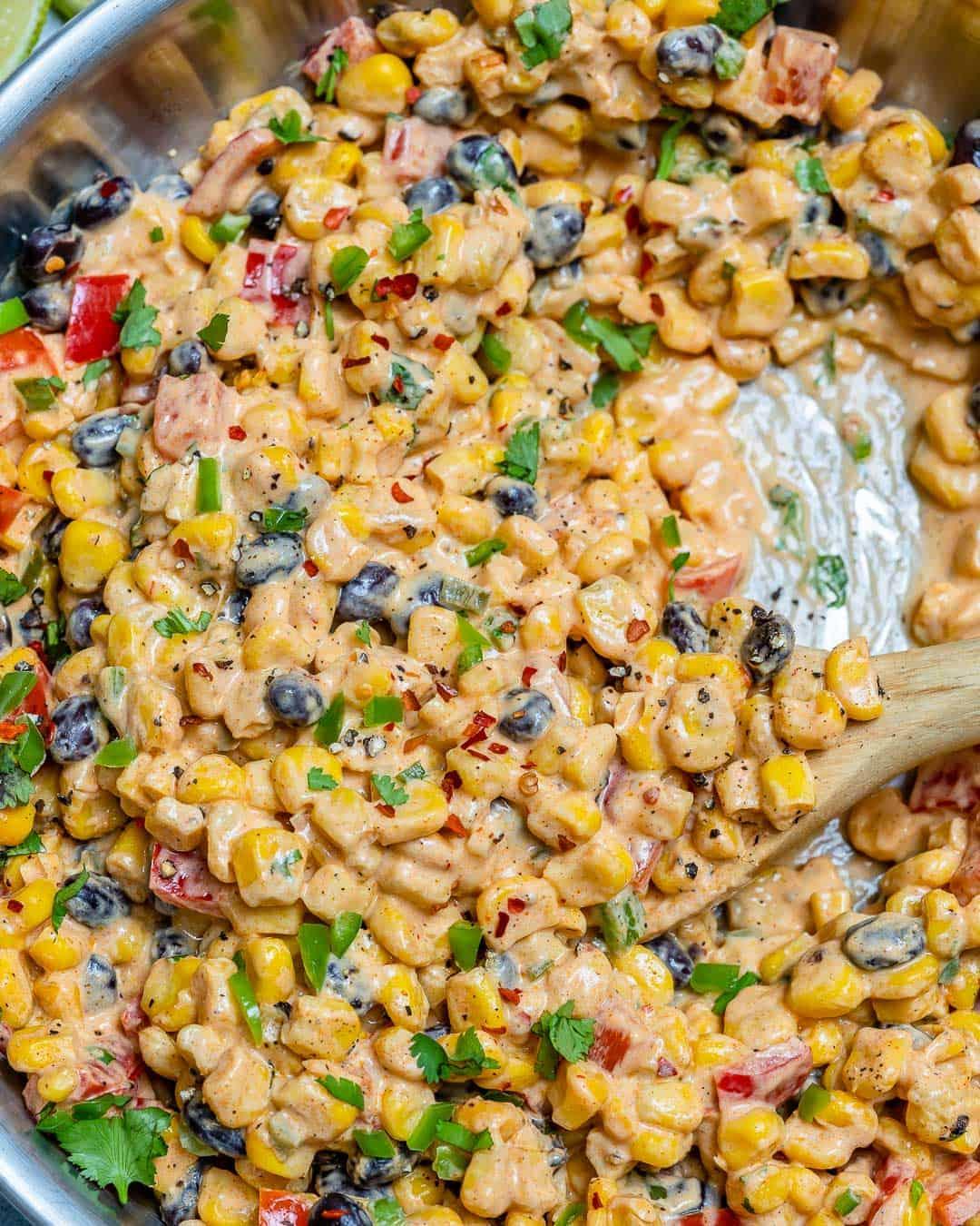 creamy corn salad recipe thats a perfect side dish
