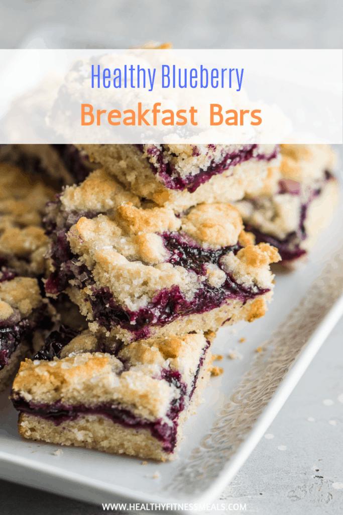 healthy breakfast with blueberries