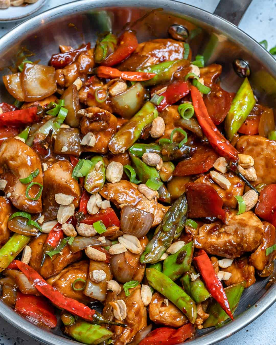 healthier take to the classic kung pao recipe