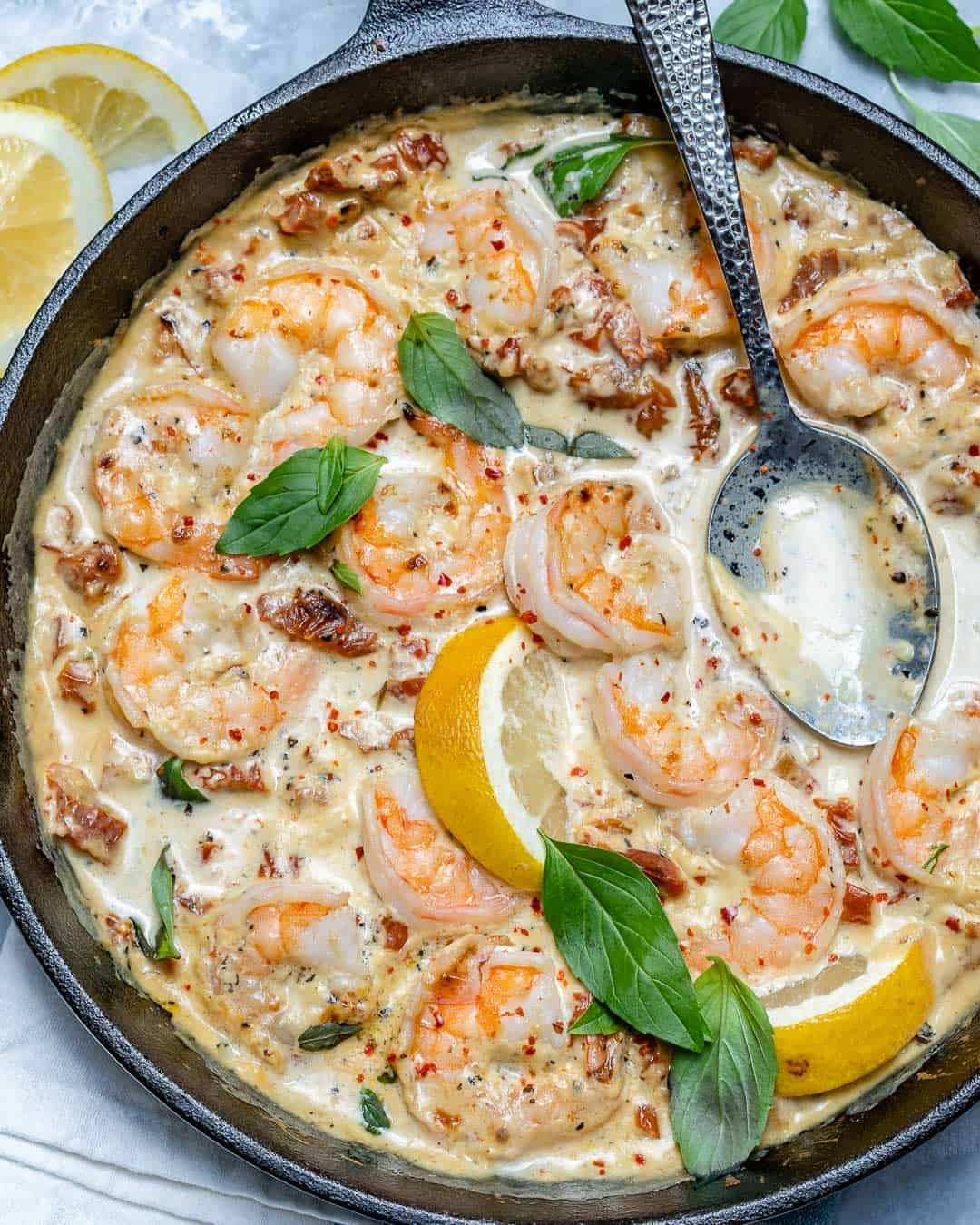 shrimp skillet recipe