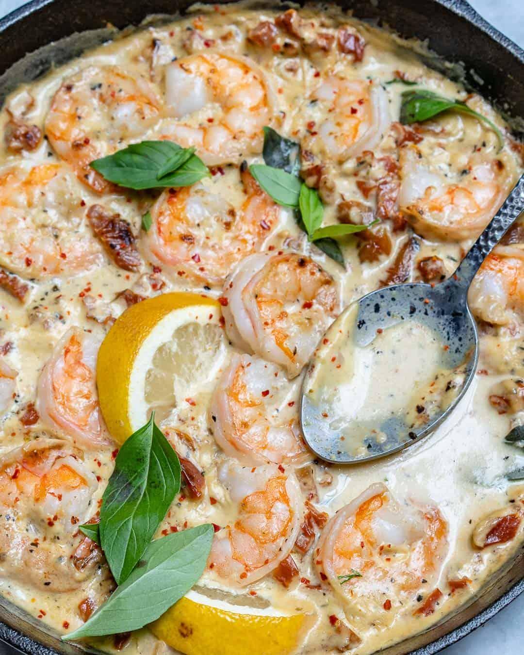 tuscan shrimp recipe