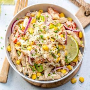 mexican style pasta salad recipe