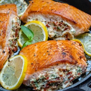 sun dried tomato salmon