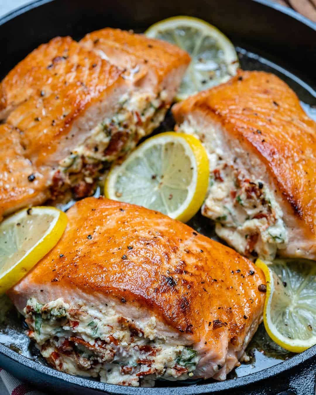 low carb salmon