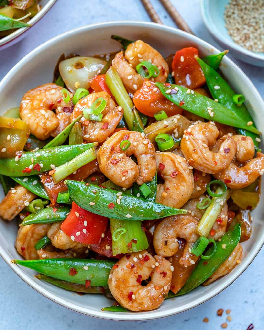 Easy Szechuan Shrimp Stir Fry Recipe