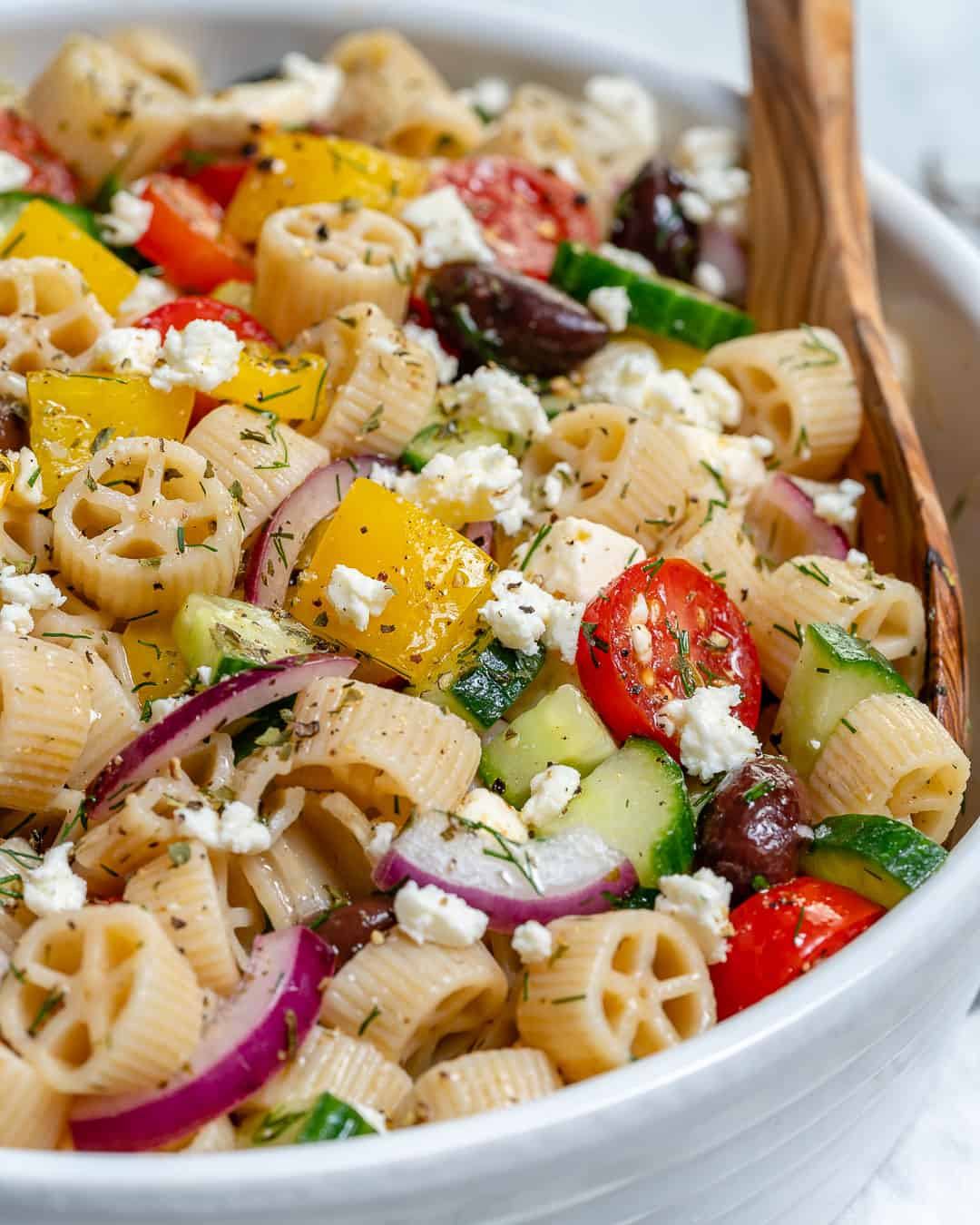 healthy greek salad recipe