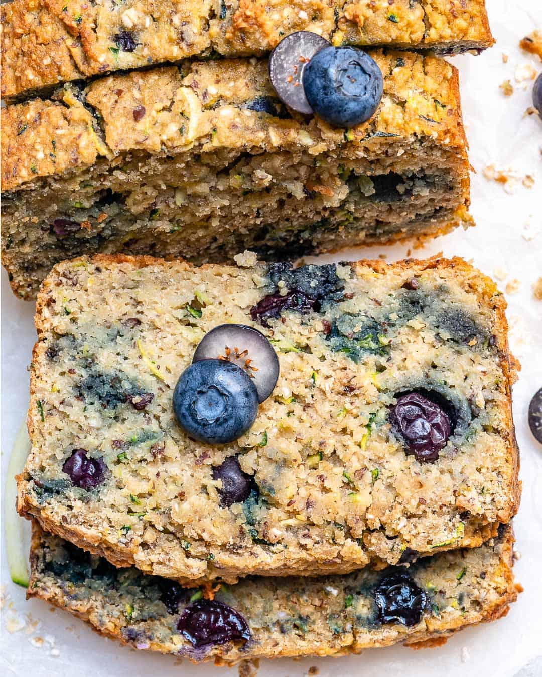 blueberry loaf bread