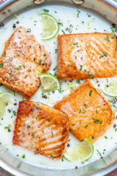creamy salmon recipe