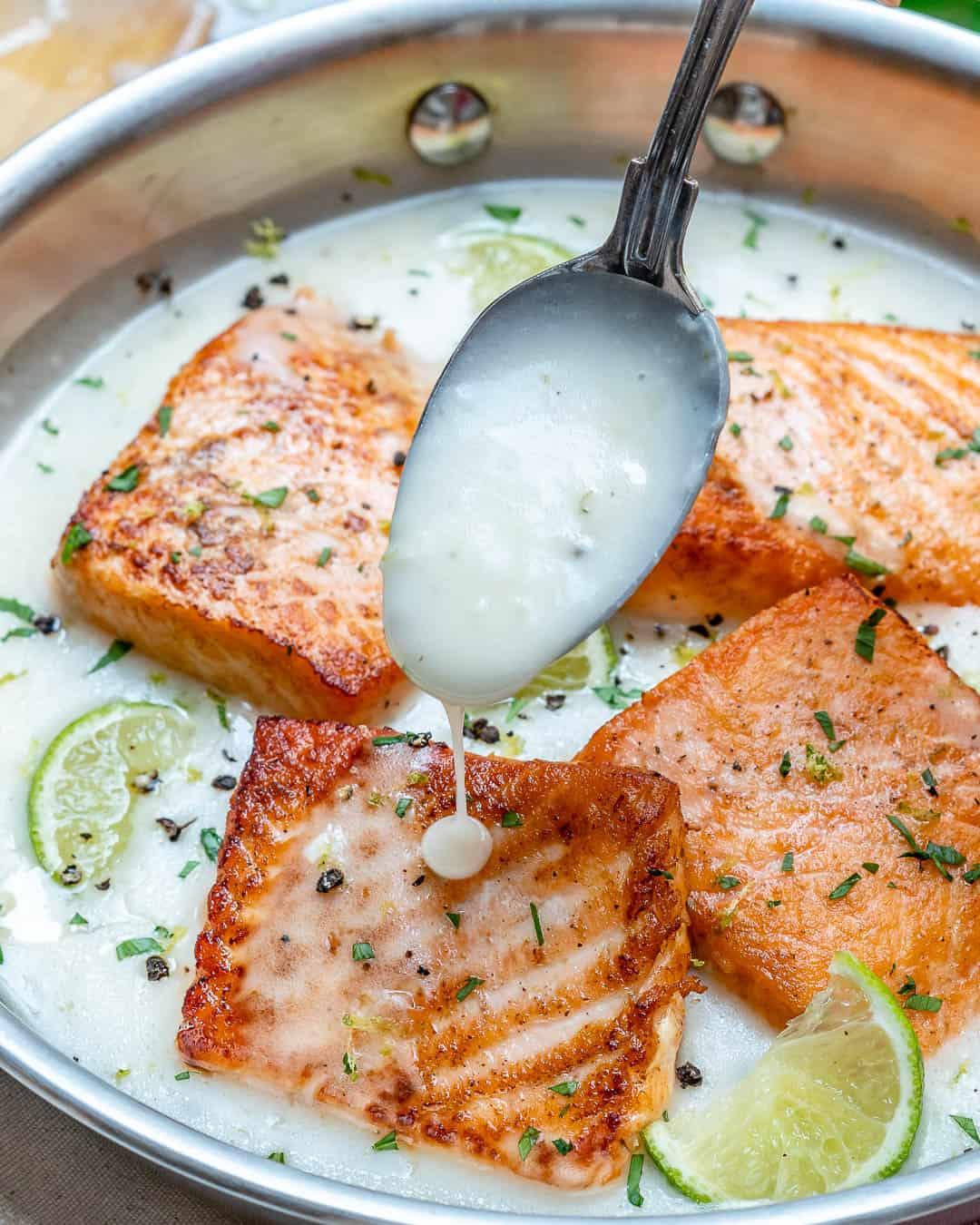 creamy salmon dinner recipe