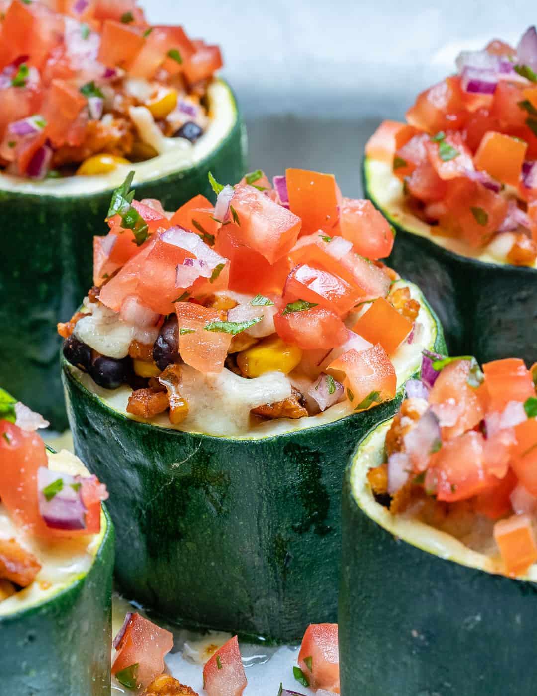 healthy zucchini cups