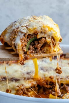 Low Carb Zucchini Lasagna Casserole