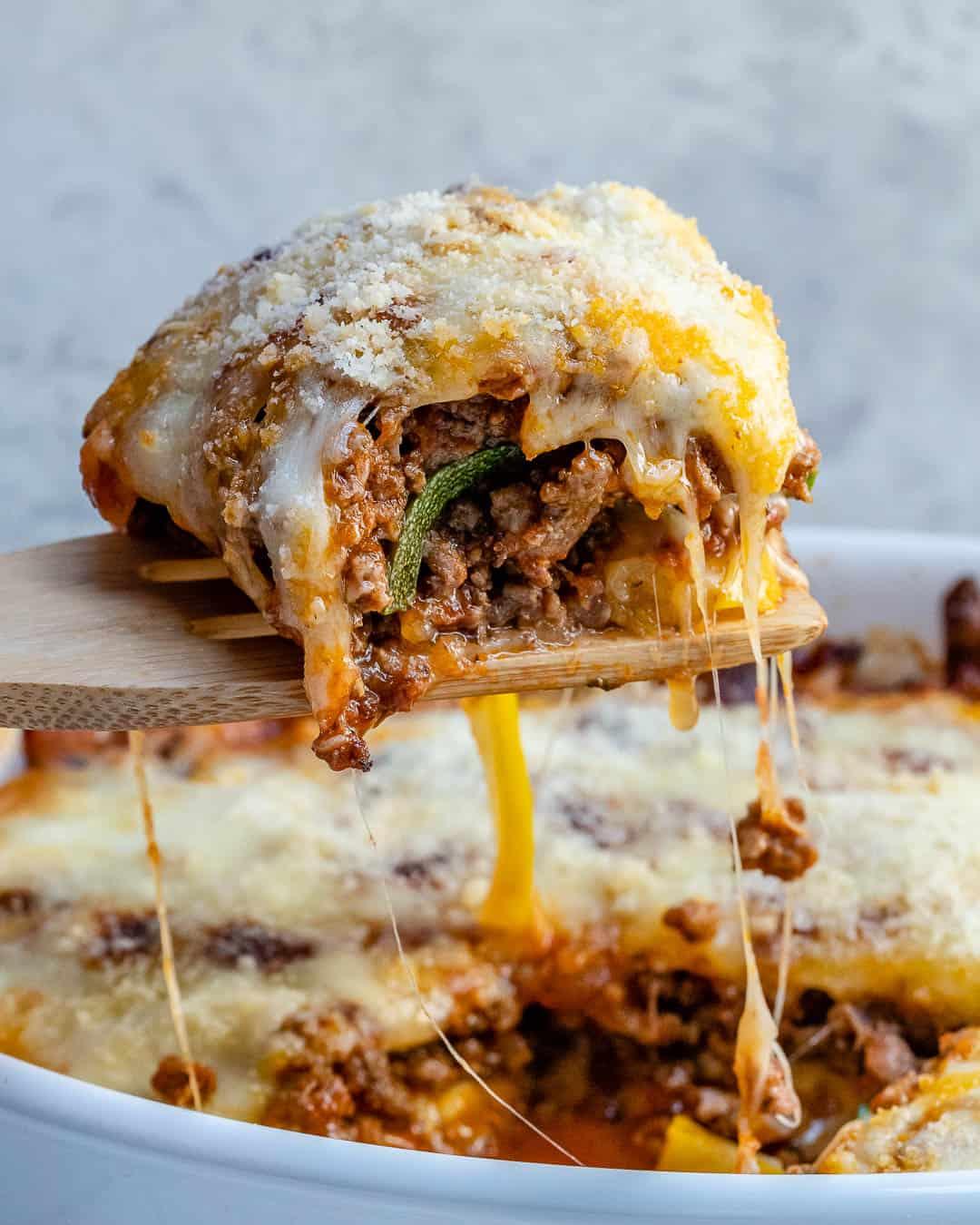 Zucchini lasagna casserole